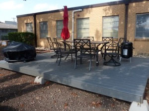 Dallas Fire Station 48 patio