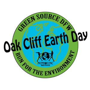 Oak Cliff Earth Day/ Run for Environment logo