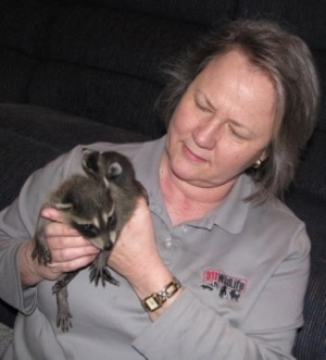 Bonnie Bradshaw, owner of 911 Wildlife