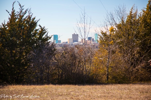 Broadcast Hill's view of downtown Fort Worth