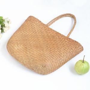 WeGoEco straw bag