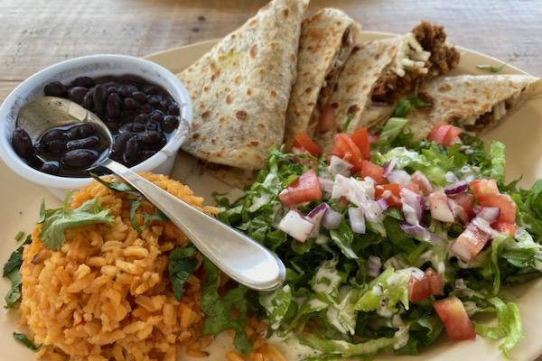 Quesadillas at Belenty's Love
