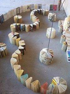 Book installation by VET