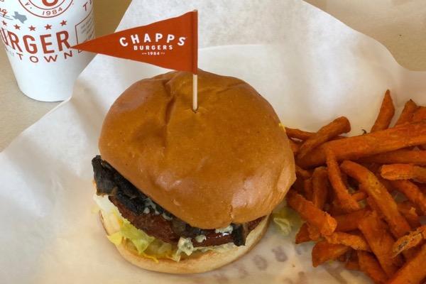 Chapp's veggie burger