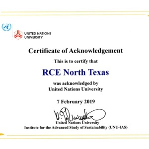 Regional Center of Expertise North Texas certificate