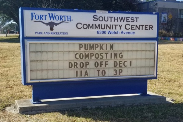 Pumpkin Composting