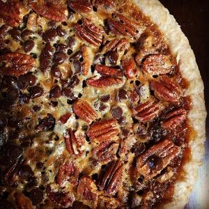Chocolate pecan bourbon pie from Humble Pie