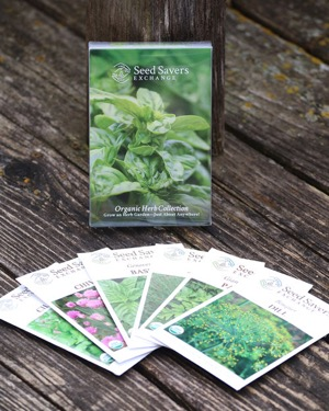 Seed Saver Organic Herb Seeds