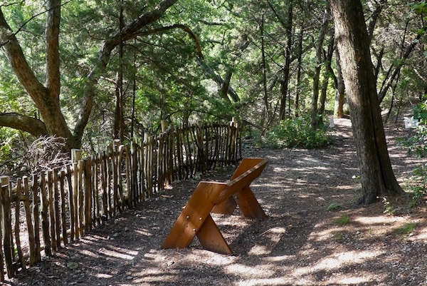 Dogwood Canyon Audubon Center bench