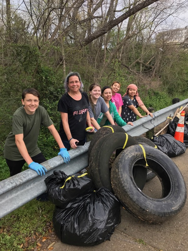 Environmental League trash-off