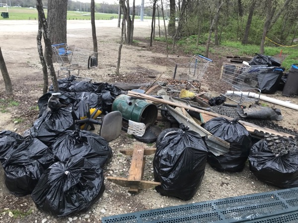 Environmental League trash-off at Harry Moss Park