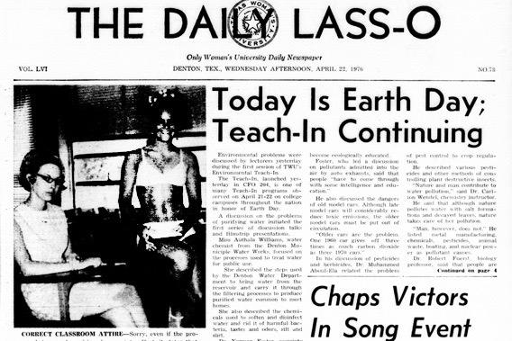 Daily Lasso April 22, 1970