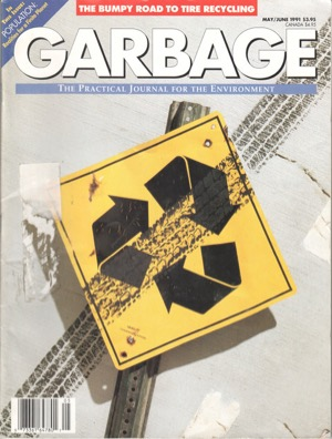Garbage mag cover