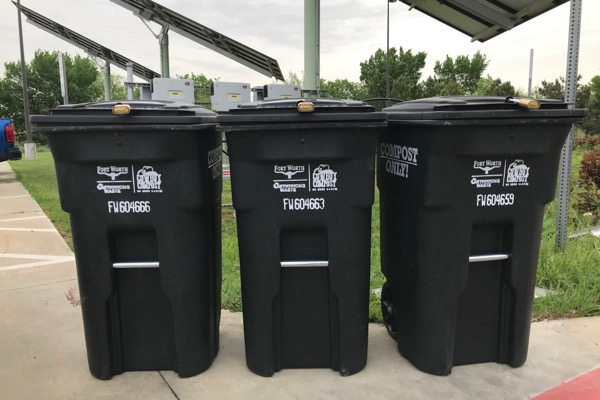 Fort Worth compost drop-off bins