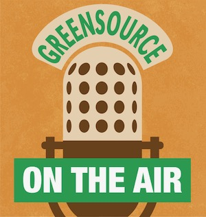 Green Source On the Air logo