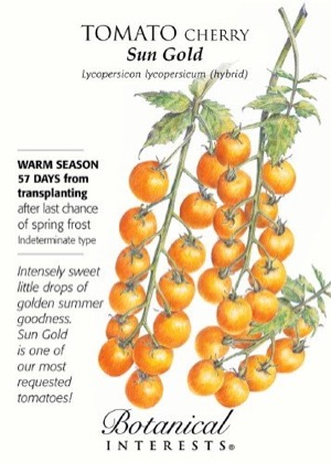 Botanical Interest seed pack