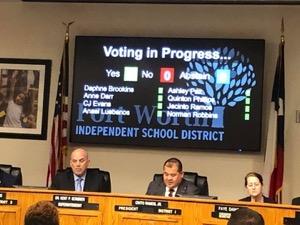 FW ISD vote