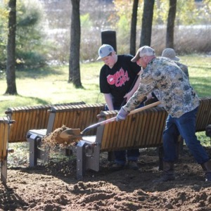 Hines Park cleanup