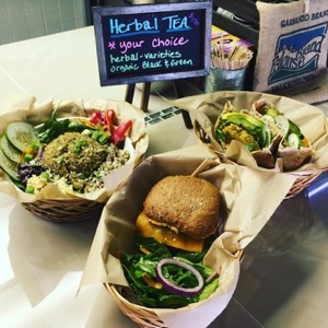 The Healthy Hippie fare