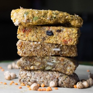 The Healthy Hippie's homemade energy bars