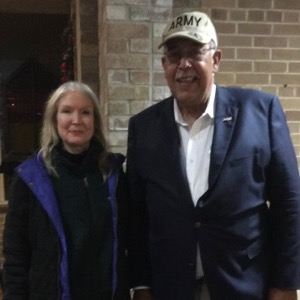 Molly Rooke and Gen. Honore
