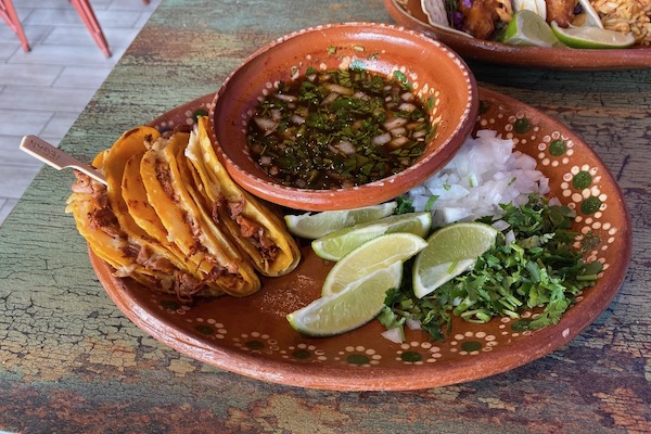 Mariachi's Jackfruit Birria Tacos platter