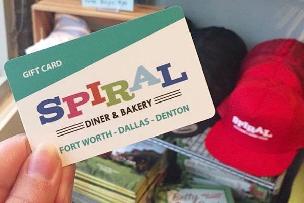 Spiral Diner Gift Card