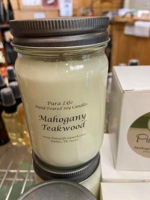Trinity Haymarket candle