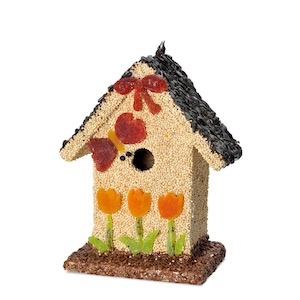 Rooster Home and Hardware birdhouse