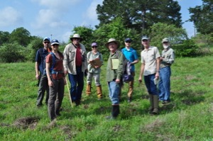 EDF team for Monarch Butterfly Exchange program