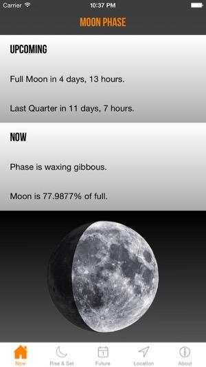 Moon Phase App