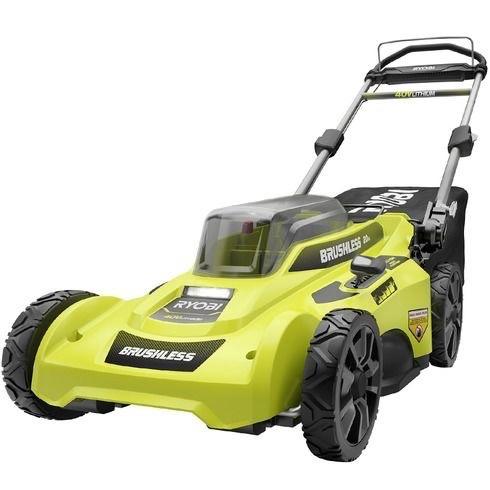 Ryobi RY401110-Y battery powered mower