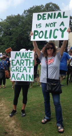 People's Climate March Dallas