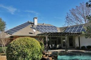 Neukranz home on DFW Solar Tour