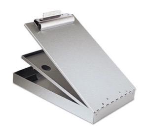 Aluminum lap desk