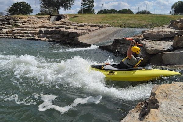 Clear Fork water chute