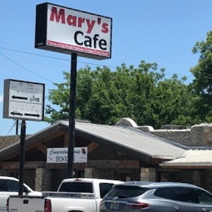 Mary's Cafe in Strawn