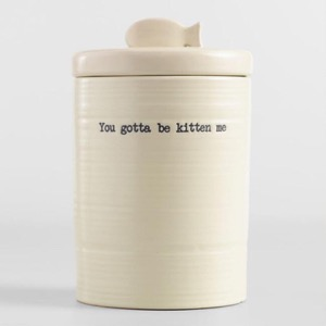 Cat canister