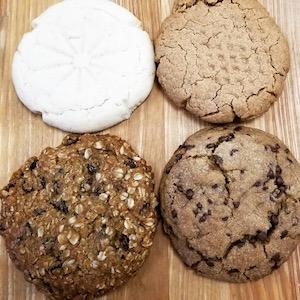Vegan cookies at Planted Bakery