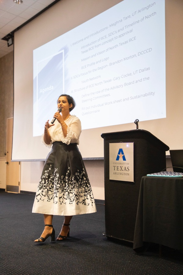 Meghna Tare, Chief Sustainability Officer at UTA