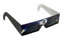 Solar eclipse safety glasses