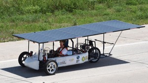 Solar Car on DFW Solar Tour