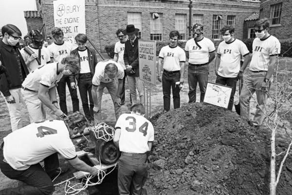 Earth Day 1970 at UTA