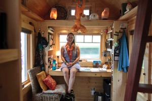 Tiny house advocate B.A. Norrgard Breen