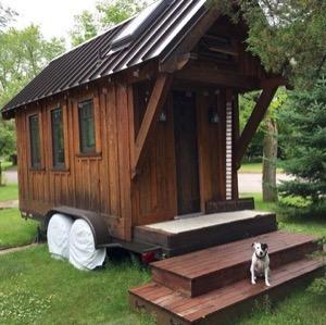 BA Norrgard's tiny house