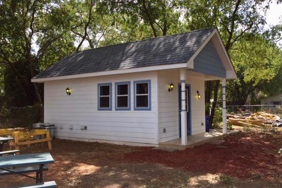 Lake Dallas Tiny Home Village washeteria