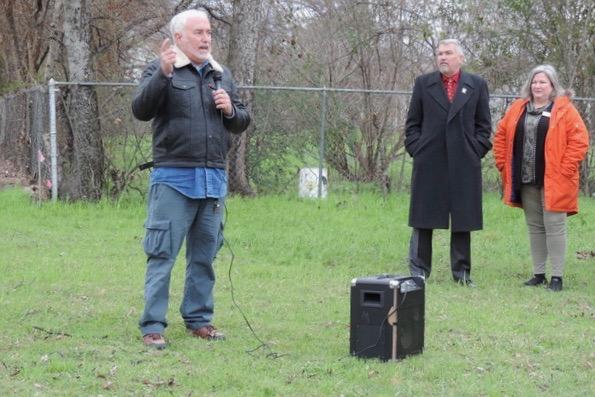 Terry Landrip, Lake Dallas Tiny Home Village developer