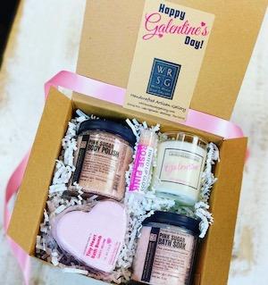 White Rock Soap Gallery's Galentine Gift Box
