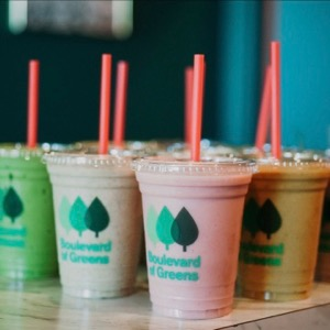 Boulevard of Greens smoothies