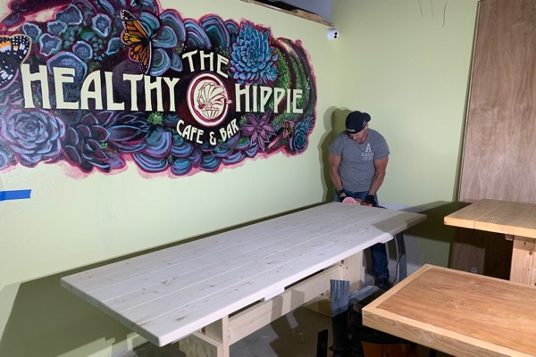 The Healthy Hippie expanding